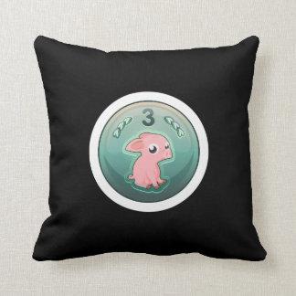 Glitch: achievement 3rd rate piggy hash slinger throw pillow