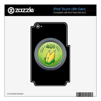 Glitch: achievement ace propagationist skin for iPod touch 4G