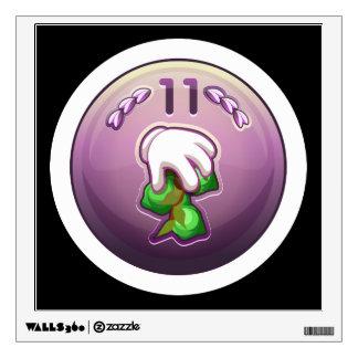 Glitch: achievement amateur bean tree fondler wall sticker