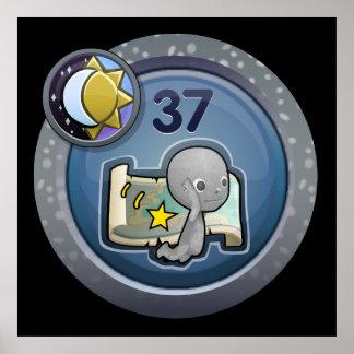 Glitch: achievement antisocial hi-skipper poster