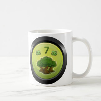 Glitch: achievement badge of the merry orchardeer coffee mug