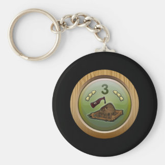 Glitch: achievement barman of death keychain