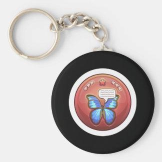Glitch: achievement butterfly whisperer keychain