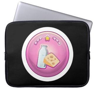 Glitch: achievement cheesemongerer laptop computer sleeves