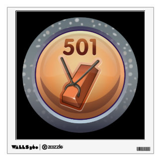Glitch: achievement chief inspector coppersmith wall decal