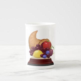 Glitch: achievement collection fruits bone china mug