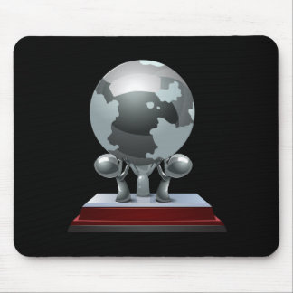 Glitch:achievement collection street creator earth mouse pad