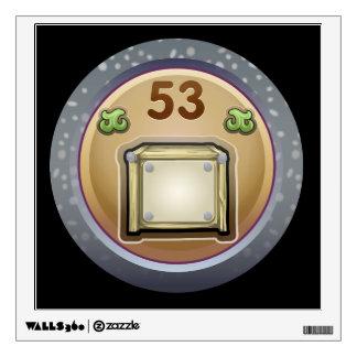 Glitch: achievement court hoarder wall decal