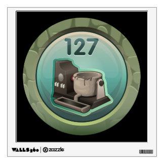 Glitch: achievement crucible jockey wall decal