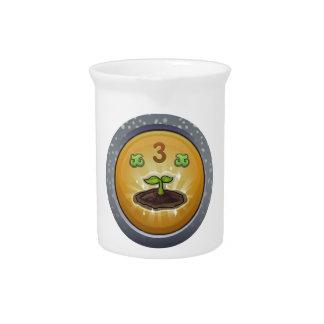 Glitch: achievement cultivation nurturer beverage pitcher