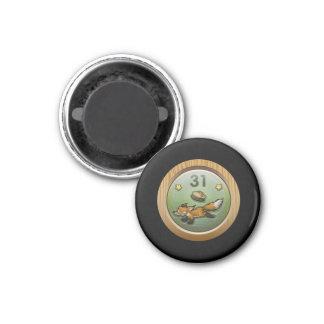 Glitch: achievement cunning like foxbrusher 1 inch round magnet