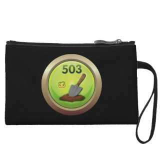 Glitch: achievement dirt diggler wristlet
