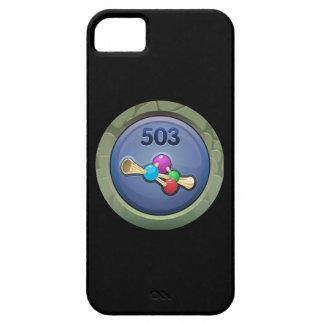 Glitch: achievement effervescence consultant iPhone SE/5/5s case