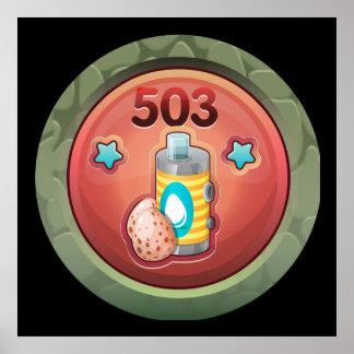 Glitch: achievement egg transmutator pro poster