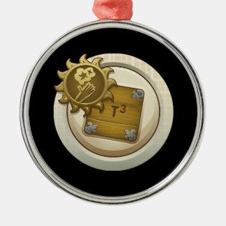 Glitch: achievement emblem skill unlock alph one metal ornament