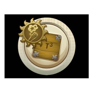 Glitch: achievement emblem skill unlock alph one postcard