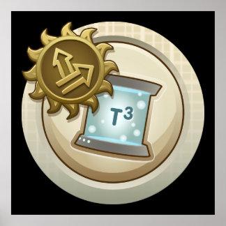 Glitch: achievement emblem skill unlock lem one poster