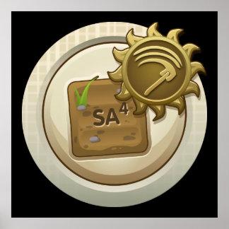 Glitch: achievement emblem skill unlock mab one poster