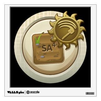 Glitch: achievement emblem skill unlock mab one wall decal