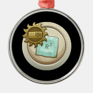 Glitch: achievement emblem skill unlock metal ornament
