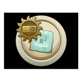 Glitch: achievement emblem skill unlock postcard