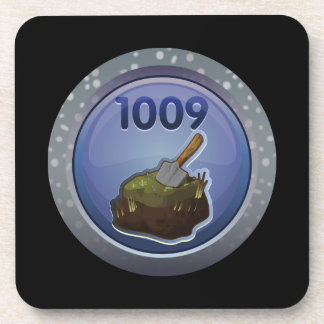 Glitch: achievement feat of peat excellence coaster