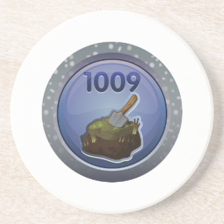 Glitch: achievement feat of peat excellence drink coaster