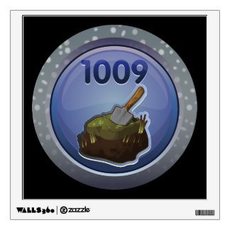 Glitch: achievement feat of peat excellence wall sticker