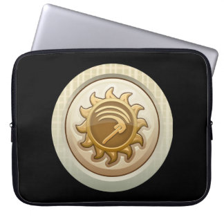 Glitch: achievement first mab emblem computer sleeve