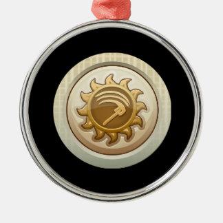 Glitch: achievement first mab emblem metal ornament
