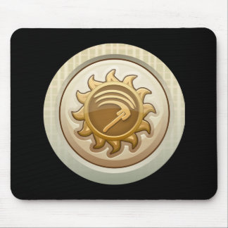 Glitch: achievement first mab emblem mousepads