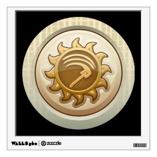 Glitch: achievement first mab emblem wall sticker