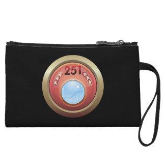Glitch: achievement full time swami wristlet wallet