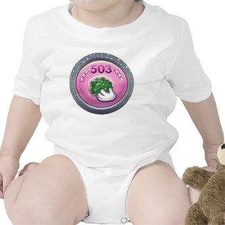 Glitch: achievement glop grappler baby bodysuit