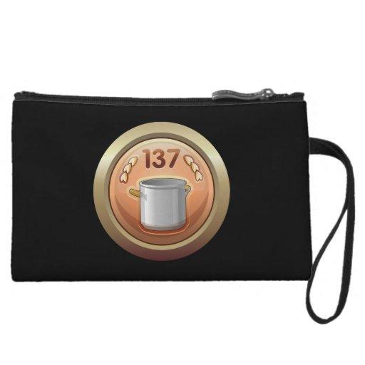Glitch: achievement golden ladle award wristlet clutch