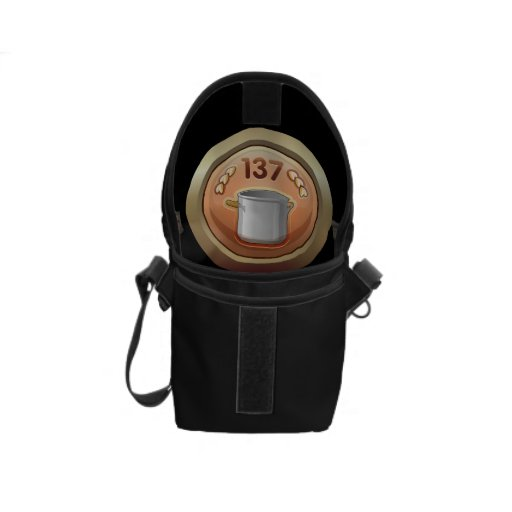 Glitch: achievement golden ladle award courier bags