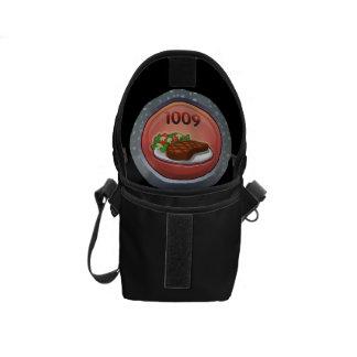 Glitch: achievement gourmand supreme courier bag