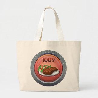 Glitch: achievement gourmand supreme large tote bag