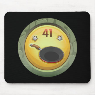 Glitch: achievement grease monkey mouse pad