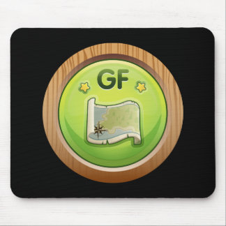 Glitch: achievement groddle forest completist mouse pad