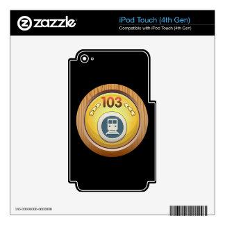 Glitch: achievement ground hogger iPod touch 4G decal