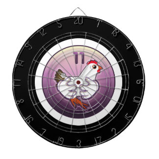 Glitch: achievement hen hugger dart board