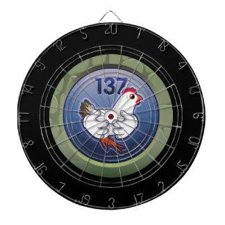 Glitch: achievement hen hugger supremalicious dartboard