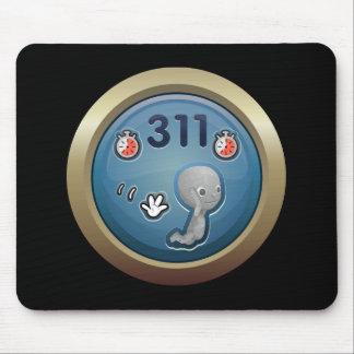 Glitch: achievement hi-velocity mouse pad