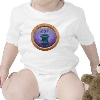 Glitch: achievement highranking supplicant baby bodysuits