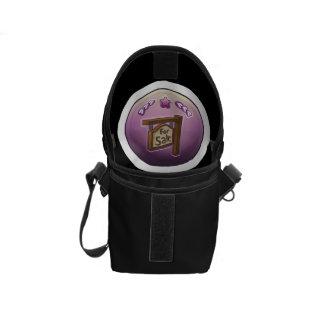 Glitch: achievement homesteader messenger bag