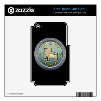 Glitch: achievement honourable chairperson iPod touch 4G decals