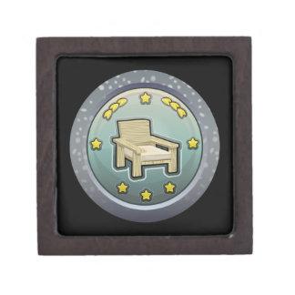 Glitch: achievement honourable chairperson keepsake box
