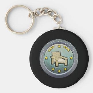 Glitch: achievement honourable chairperson keychain
