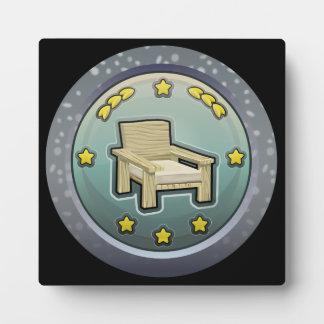 Glitch: achievement honourable chairperson plaque